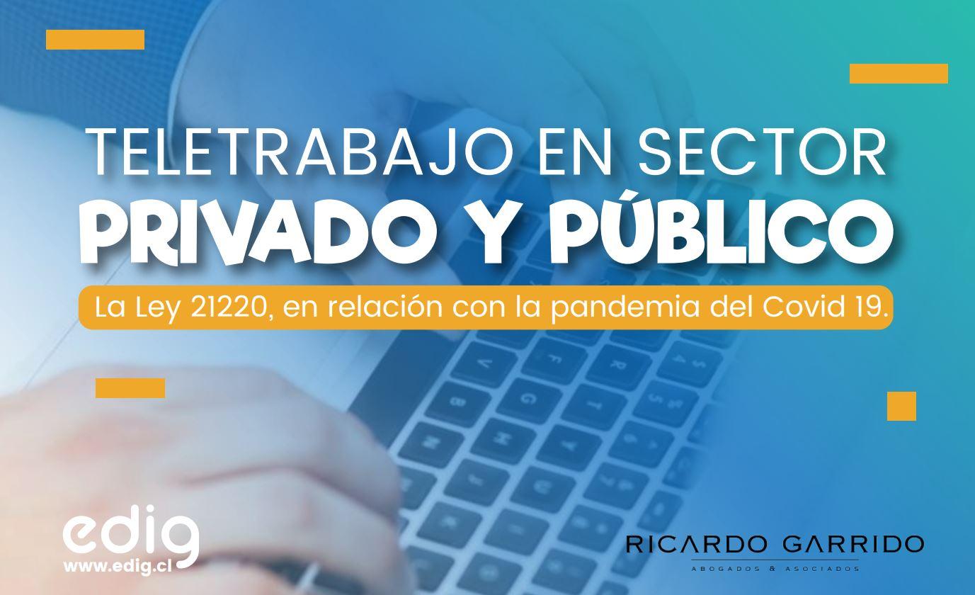 """Featured image for """"Teletrabajo en Sector Privado y Público"""""""